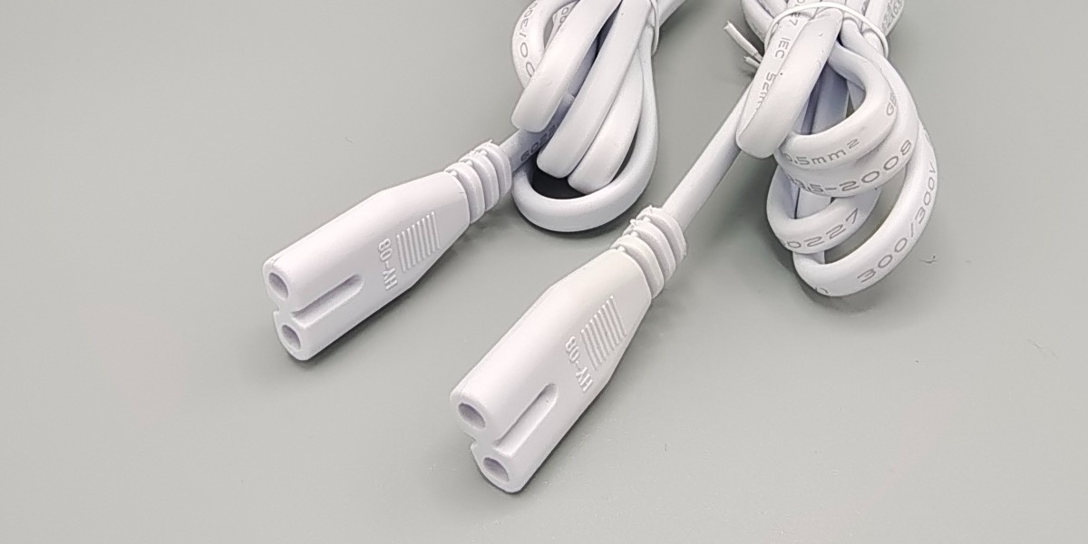 AC 插头注塑连接线