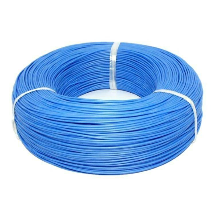 硅胶线-蓝